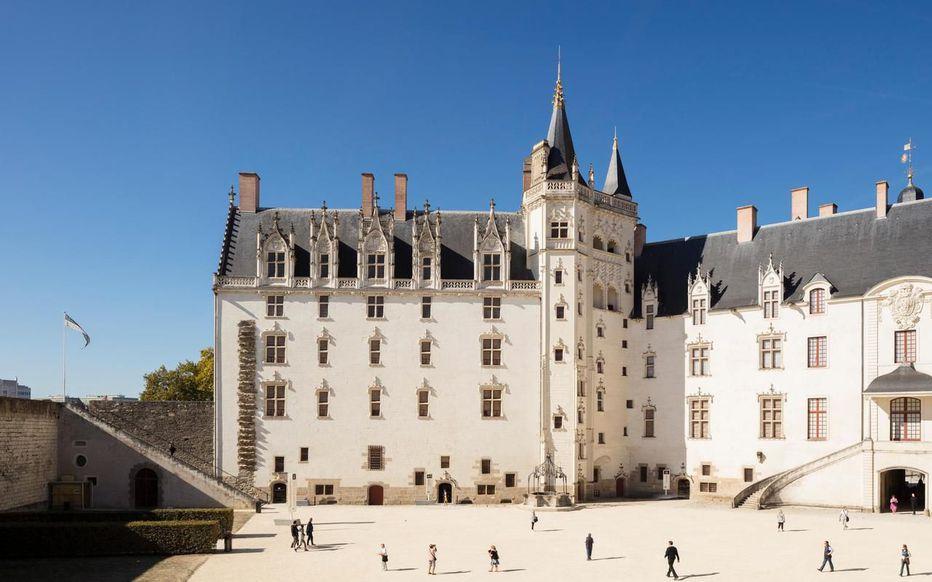 Description: Nantes (Loire-Atlantique).  Das Schloss der Herzöge der Bretagne sollte nächstes Jahr die Ausstellung erhalten.